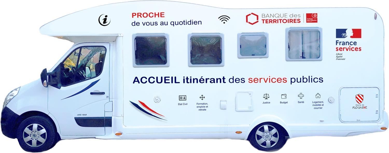 FRANCE SERVICES Itinérant - Nouvelle tournée !
